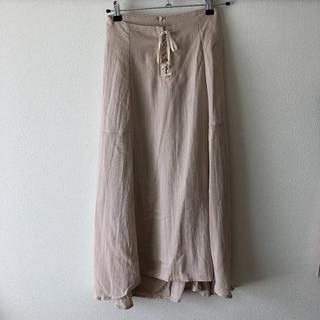 ティティベイト(titivate)のtitivate 未使用 レースアップ スカート(ひざ丈スカート)