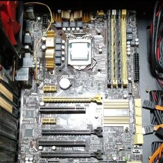 エイスース(ASUS)のi5 4570 DDR3 16GB ASUS Z87-A 3点セット(PCパーツ)