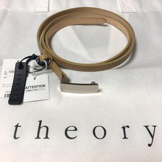 セオリー(theory)のお値下げ‼️ [新品未使用品‼️タグ付き‼️]theory(セオリー) ベルト(ベルト)