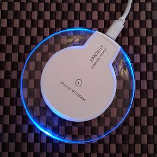 無線充電器 ホワイト ワイヤレス充電器 最安値 Qi チー ワイヤレス 充電