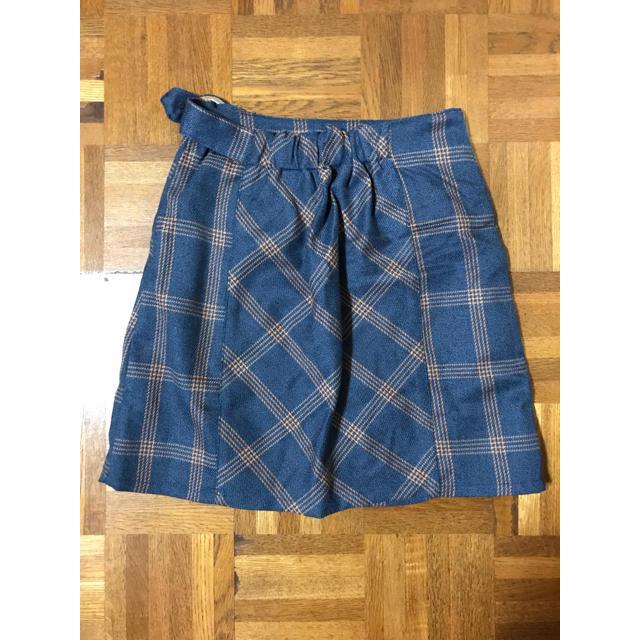one after another NICE CLAUP(ワンアフターアナザーナイスクラップ)のラップ台形アソートスカート レディースのスカート(ミニスカート)の商品写真