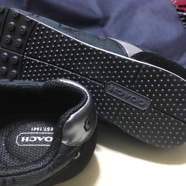 COACH(コーチ)の🔲COACH🔲Ladies'スニーカー⬛️25.5⚫️黒🟦 レディースの靴/シューズ(スニーカー)の商品写真