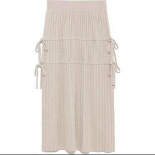 snidel - snidel ラメプリーツスカート