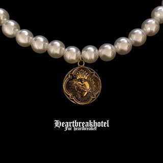 ロキエ(Lochie)の♥️ Vintage Gold Pearl Medal Necklace(ネックレス)