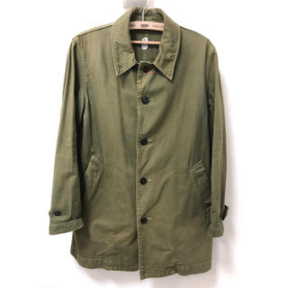 カトー(KATO`)のKATO ミリタリーシャツ ジャケット ステンカラー(ミリタリージャケット)