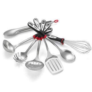 ティファール(T-fal)のティファール 調理器具 ステンレススチール 新品 セット キッチンツール(調理道具/製菓道具)