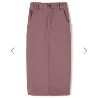 グレイル(GRL)のGRL エコウールタイトスカート(ひざ丈スカート)