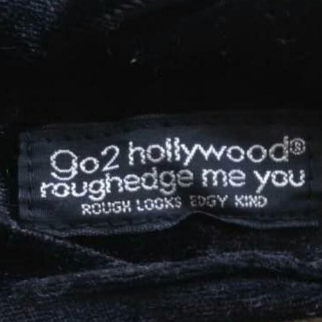 GO TO HOLLYWOOD(ゴートゥーハリウッド)のゴートゥーハリウッド ヘアバンド デニムダンガリー レディースのヘアアクセサリー(ヘアバンド)の商品写真