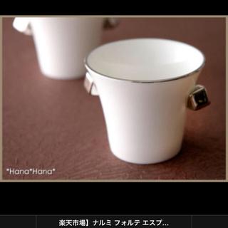 ナルミ(NARUMI)のナルミ  エスプレッソカップ 80cc プラチナで上質な時間をご体感下さい(グラス/カップ)