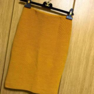 DEUXIEME CLASSE - ドゥーズィエムクラス  からし色スカート