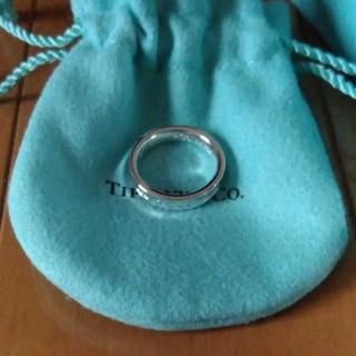 Tiffany & Co. - 今だけ値下げ新品未使用ティファニーシンプルリング