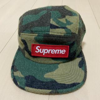 シュプリーム(Supreme)の【送料込】Supreme Camo Wool Camp Cap(キャップ)