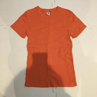 プチバトー(PETIT BATEAU)のプチバトーオレンジTシャツ(Tシャツ(半袖/袖なし))