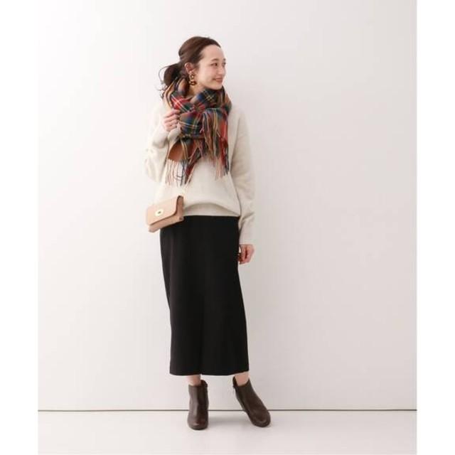 IENA(イエナ)の 2019aw SLOBE IENA サキソニーロングタイトスカート レディースのスカート(ロングスカート)の商品写真