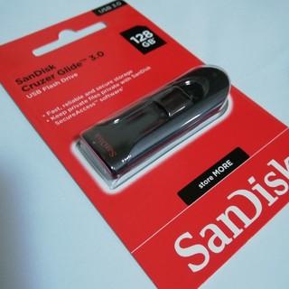 サンディスク(SanDisk)のサンディスク USBメモリ 128GB スライド式(PC周辺機器)