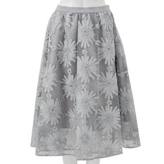 Chesty - 【新品未使用】チェスティ  chesty 刺繍チュールスカート