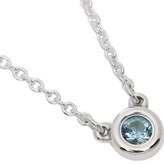 Tiffany & Co. - Tiffany バイザヤード ネックレス アクアマリン