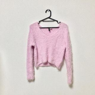 H&M - ピンク セーター ニット H&M