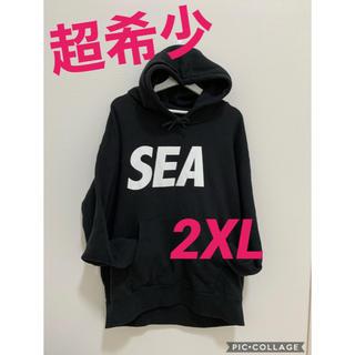 Ron Herman - 超希少!完売品!wind and sea ロゴ パーカー