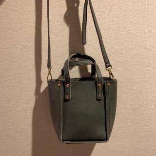 ディーホリック(dholic)の美品 韓国購入 le-junev スウェードレザーミニショルダーバッグ(ショルダーバッグ)