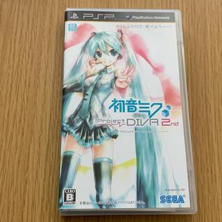 PlayStation Portable - 初音ミクプロジェクトディーヴァ セカンド   PSPソフト