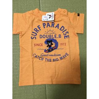 DOUBLE.B - ミキハウス ダブルビー Tシャツ90