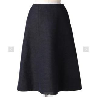 Drawer - 【新品未使用】Drawer ネイビーフレアスカート