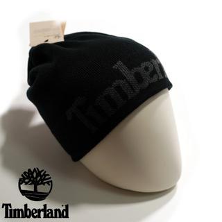 Timberland - ティンバーランド ■ ニットキャップ 帽子 ビーニー ロゴ リバーシブル