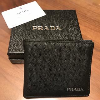 プラダ(PRADA)のプラダ 二つ折財布(折り財布)
