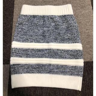 エゴイスト(EGOIST)の新品 エゴイスト ニットタイトスカート(ひざ丈スカート)