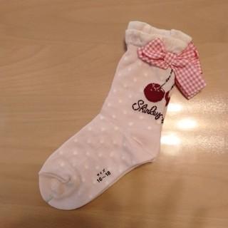 Shirley Temple - 新品シャーリーテンプル チェリーソックス16〜18cm