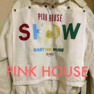ピンクハウス(PINK HOUSE)のピンクハウス 花柄 ブルゾン アウター(ブルゾン)
