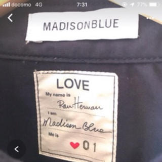 MADISONBLUE - マディソンブルー ロンハーマンハンプトン限定ジャケットMADISONBLUE