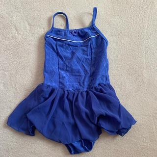 チャコット(CHACOTT)のチャコット♡キャミソール レオタード♡スカート付き♡ブルー 120(その他)