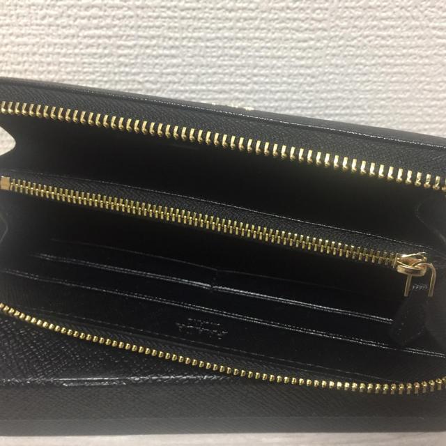 PRADA(プラダ)のPRADA プラダ長財布 ブラック レディースのファッション小物(財布)の商品写真