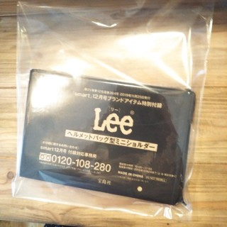 リー(Lee)のsmart 12月号特別付録 Lee  ヘルメットバッグ型ミニショルダー(ショルダーバッグ)