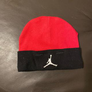 ナイキ(NIKE)のベビー ジョーダン コットン100%帽子 0-6ヶ月(帽子)