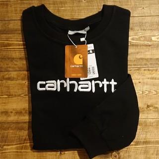 carhartt - 新品 Carhartt 薄手トレーナー黒