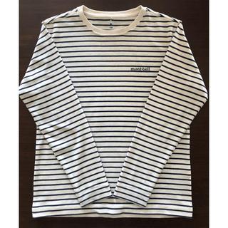 モンベル(mont bell)の[定番] mont-bell モンベル ウィックロン ボーダーシャツ(Tシャツ/カットソー)
