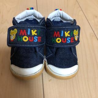 mikihouse - MIKIHOUSEベビースニーカー
