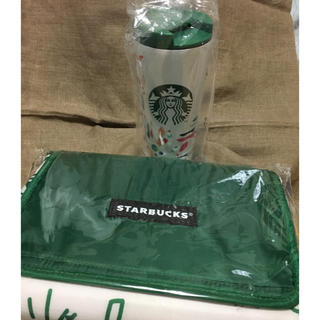 Starbucks Coffee - Starbucks☆2020福袋   新品ストロー付きタンブラー&レジャーシート
