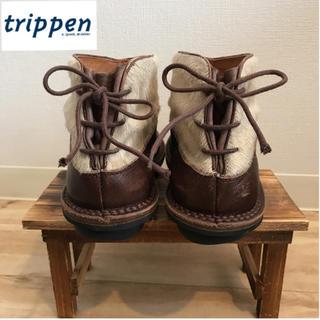 トリッペン(trippen)のtrippen ハラコ切替 レースアップシューズ(ブーツ)