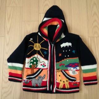 チチカカ(titicaca)のベビー ニット カーディガン ジャケット 90(カーディガン)