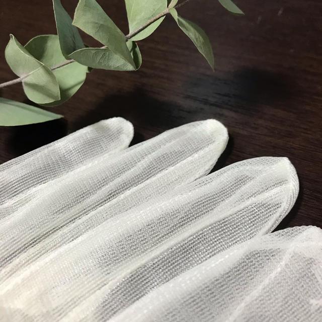 ウエディングショートグローブ レディースのフォーマル/ドレス(ウェディングドレス)の商品写真
