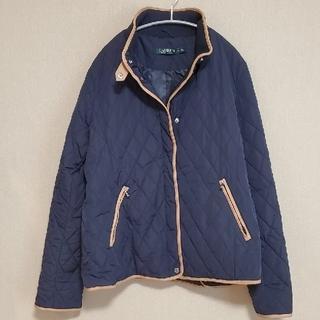 ラルフローレン(Ralph Lauren)の新品タグ付き 紺キルティングジャケット 大きいサイズ(ダウンジャケット)