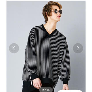 シャリーフ(SHAREEF)のkirov  ストライププルオーバー(Tシャツ/カットソー(七分/長袖))