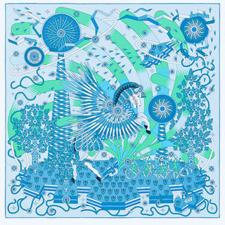 Hermes - エルメス スカーフ カレ90 2020年春夏 紙タグ付 新品 期間限定値下げ