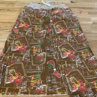 美品 バナバナ スカート 150