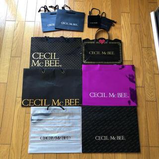 セシルマクビー(CECIL McBEE)のセシル ショップバッグ 10枚セット(ショップ袋)
