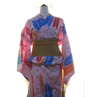 ツモリチサト(TSUMORI CHISATO)のツモリチサト浴衣  矢羽根柄  1回着用 (浴衣)